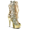 DELIGHT-600-36 Gold Suede/Chrome